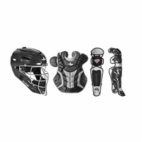 All-Star System 7 - CKPRO1 - Professional/College Catcher's Gear Set