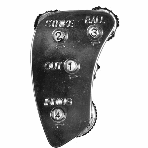 All-Star Umpire Accessories UC5-BC 4 Count Steel Indicator