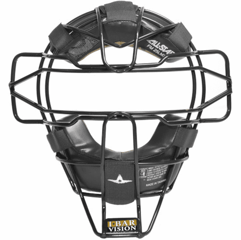 All-Star Umpire Protective FM25UMP-LMX Traditional Facemask with LMX Padding