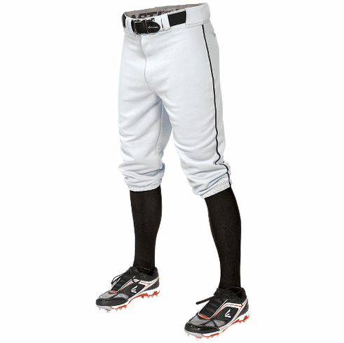 Easton Apparel Pro + Knicker A167106 Youth Short Baseball Pant with Piping