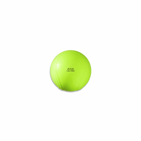 JUGS B5010 Lite-Flite 11 Inch Optic Game Ball Yellow Softballs