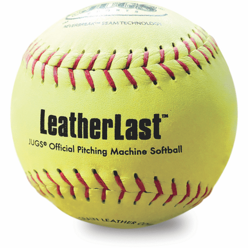 Jugs LeatherLast B5250 12 Inch Leather Fastpitch Pitching Machine Softball
