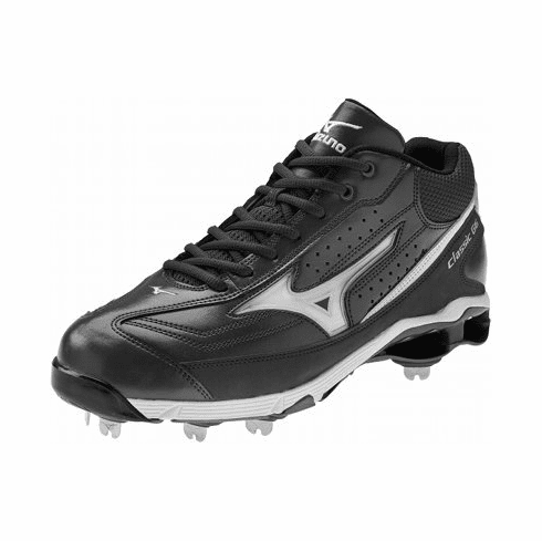 Mizuno 9-Spike Classic G6 Mid Switch Adult Baseball Cleat - 320379