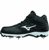 Mizuno 9-Spike Sweep 4 320574 Womens Mid Metal Fastpitch Softball Cleats