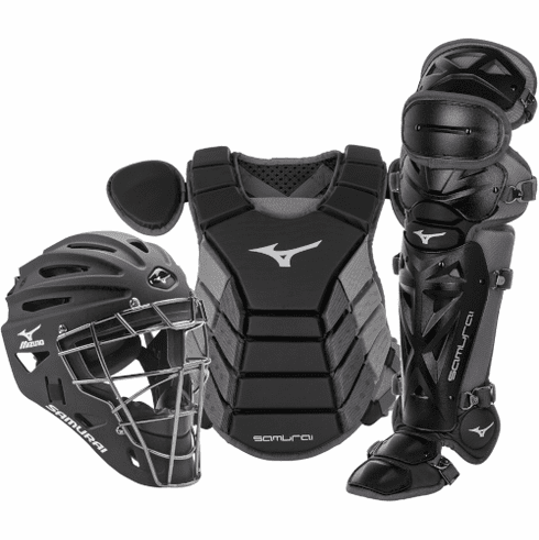 Mizuno Samurai 380417 Adult Baseball Catcher's Gear Set