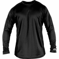 Rawlings Apparel YLSBASE Youth Long-Sleeve Performance Shirt