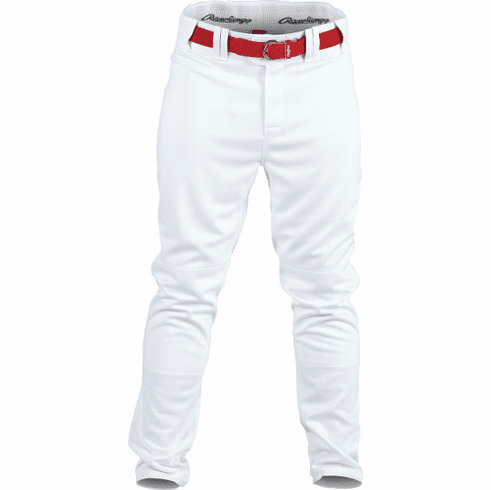 Rawlings Apparel YPRO150 Youth Pleated Solid Baseball Pant