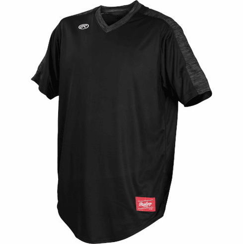 Rawlings Launch YLNCHJ Youth Short Sleeve V-Neck Jersey