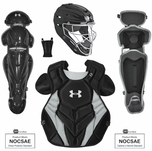 Under Armour Converge Victory Series Junior Youth Baseball Catcher Gear Set UACKCC4-YVS