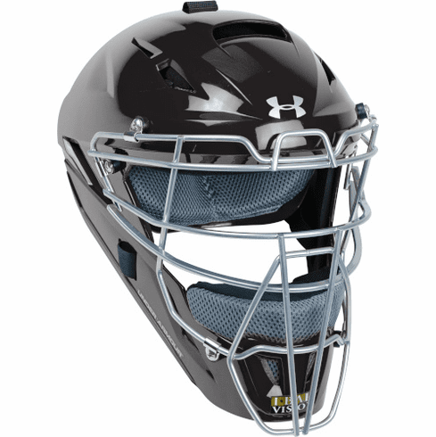Under Armour Converge Youth Solid Gloss Catcher's Helmet UAHG3-Y