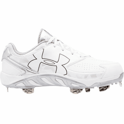 Under Armour Spine Glyde 1264179 Women's Low Spiked Fastpitch Softball Cleat