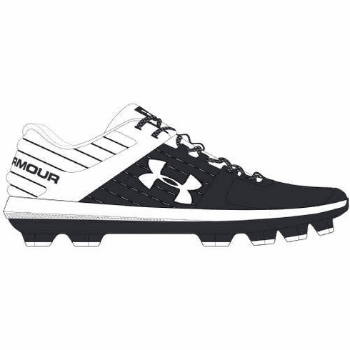Under Armour Yard 3022324 Adult Low Molded Baseball Cleats