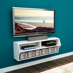 Altus 48.5 inch Wall Mounted Audio Video Console