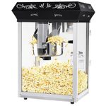 Black Foundation 8 oz. Popcorn Popper Machine