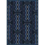 Art Deco Ticket Home Theater Area Rug