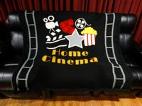 HT Design Home Theater Throw Blanket