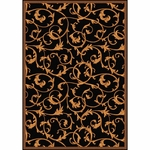 Leaves Theater Area Rug