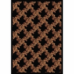 Neoclassical Home Theater Area Rug