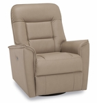 Palliser Dover Swivel Power Recliner w/Power Headrest & USB