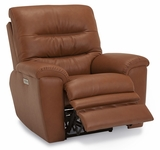 Palliser Keiran Wallhugger Power Recliner w/Power Headrest & Optional Lumbar