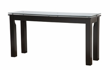 Plateau SL Series Glass Top Accent Table