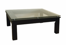 Plateau SL Series Glass Top Table