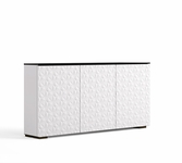 Salamander Designs Milan 337 Low Profile Triple AV Cabinet