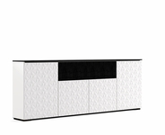 Salamander Designs Milan 345 Low Profile Quad AV Cabinet