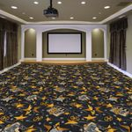 Silver Screen Room Home Theater Carpet