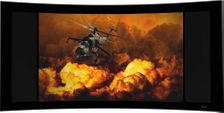 Stewart Cinecurve Variable Masking Curved Screen