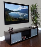 Plateau Wide Flat Panel Television Stand