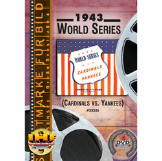 1943 World Series DVD (Cardinals vs Yankees)