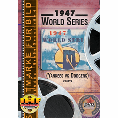 1947 World Series DVD (New York Yankees vs Brooklyn Dodgers)