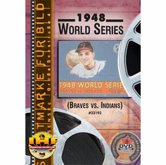 1948 World Series DVD (Cleveland Indians vs Boston Braves)