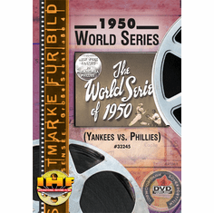 1950 World Series DVD  (New York Yankees vs. Philadelphia Phillies)