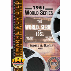 1951 World Series DVD (New York Yankees vs. New York Giants)