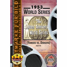 1953 World Series DVD (New York Yankees vs Brooklyn Dodgers)