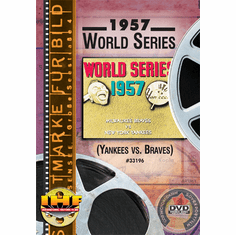 1957 World Series DVD (New York Yankees vs Milwaukee Braves)