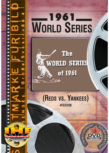 1961 World Series DVD (Cincinnati Reds vs New York Yankees)