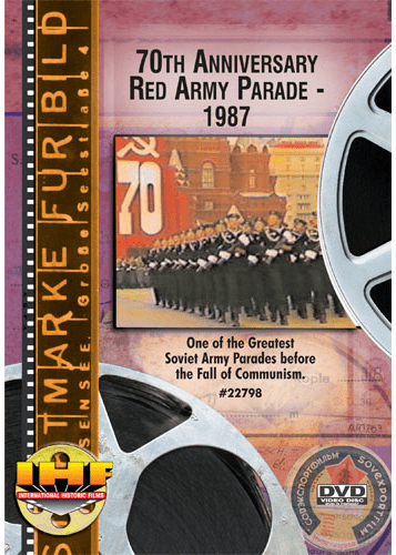 70th Anniversary Red Army Parade-1987 (DVD with DSL Certificate)