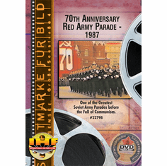 70th Anniversary Red Army Parade-1987 (DVD with PPR & DSL Certificates)