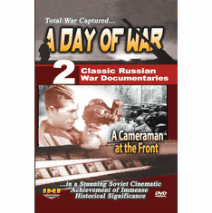 A Day of War & A Cameraman at the Front DVD (DVD with PPR & DSL Certificates)