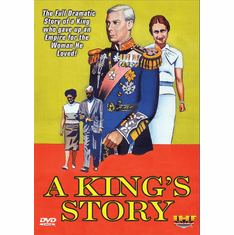 A King's Story : The Love Story of the Century (Duke and Duchess of Windsor) (DVD with DSL Certificate)