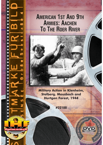 American 1 & 9 Armies : Aachen DVD