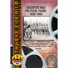 Assorted Nazi Political Films: 1932 - 1943 (Nazi Propaganda)  DVD