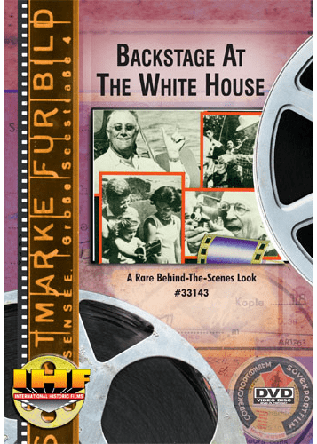 Backstage at the White House DVD