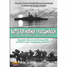 Battle For Norway 1940 Campaign DVD (Kampf Um Norwegen: Feldzug 1940) DVD Educational Edition