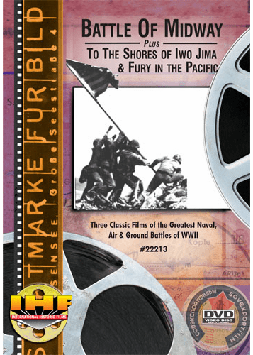 Battle Of Midway, To The Shores of Iwo Jima & Fury in the Pacific DVD