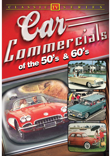 Car Commercials of the 50's and 60's DVD