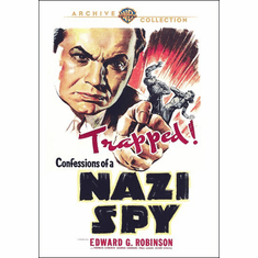 Confessions of a Nazi Spy DVD